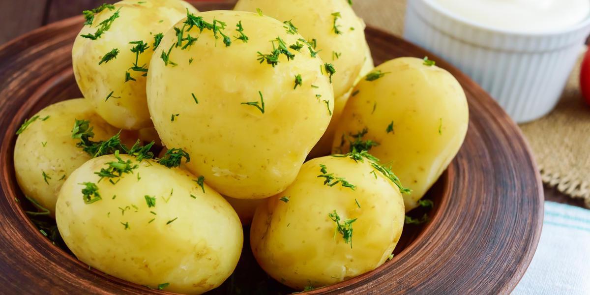 Фото вареного картофеля там